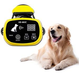 Wireless Dog Fence by YHPOYLP-dual battery